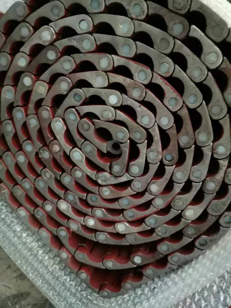 锰钢甲带 履带 给煤机钢带库存充足
