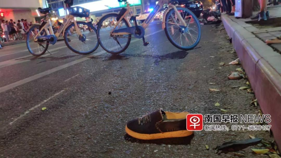 南宁汽车失控撞多车多人致2死3伤 肇事司机涉酒驾