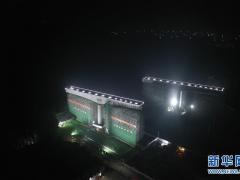 全球华人频道:京雄城际铁路跨津保铁路桥梁转体完成