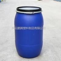 200L塑料桶开口200升抱箍桶厂家