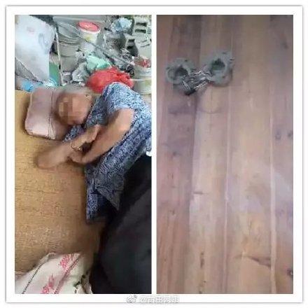 老人躺家门口无人照看 警方:督促子女履行赡养义务