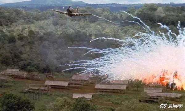 美军轰炸越共据点