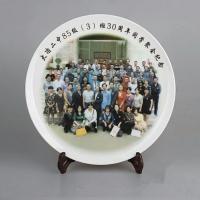 宗教祭祀陶瓷纪念盘40公分厂家直销 陶瓷挂盘批发