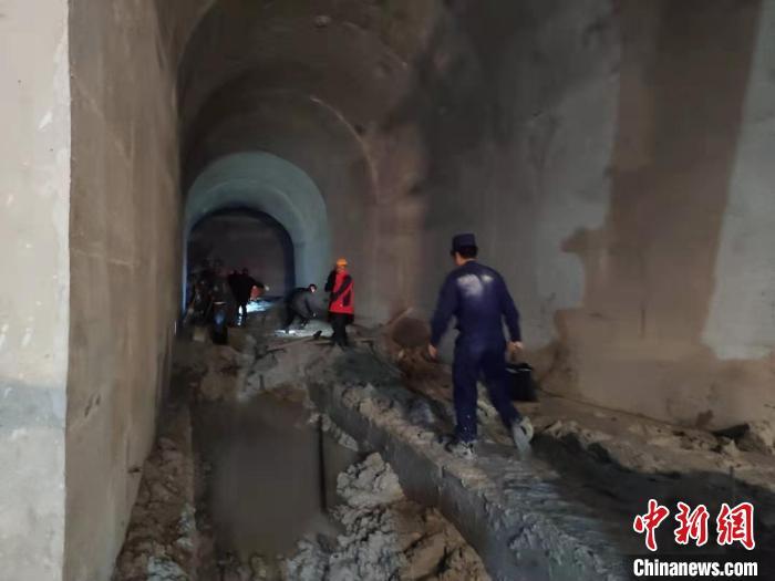 图为事故现场。临沧消防供图