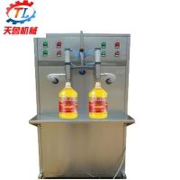 玻璃水灌装机 半自动液体灌装机 气动液体灌装机