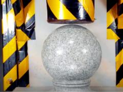 全球报道:把石墩放到200吨液压机下会发生什么?启动瞬间让人大呼过瘾