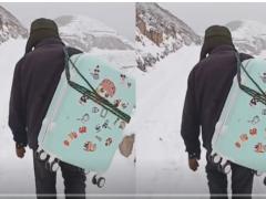 全球报道:大雪封山父亲接女儿回家 二话不说扛起行李箱背影让人泪目
