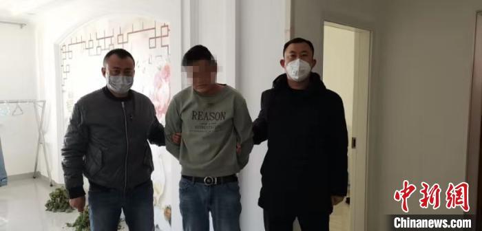 内蒙古一男子利用疫情诈骗被抓后竟出现高烧症状