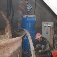 凿井工程掘进排水清淤吊泵