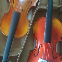出售纯手工制作小提琴大提琴中提琴低音贝司
