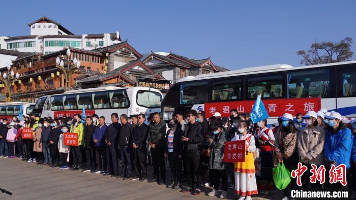 丽江迎来旅行社复工后首发团滞留游客续游未完行程