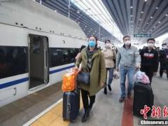 全球报道:1万多人从湖北乘高铁返京 谁能回?怎么回?