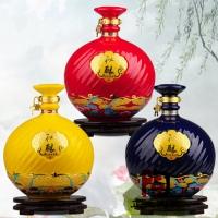 克拉玛依陶瓷酒瓶1酒壶厂家供应 陶瓷酒具厂家直销