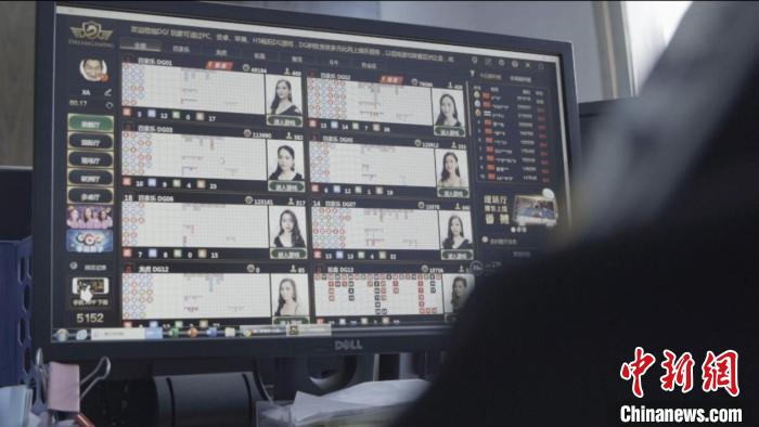 经调查,该赌博网站总部设在东南亚,员工近200人,通过互联网创建了专门组织中国境内人员赌博的6个国内赌博网站盘口。公安部供图