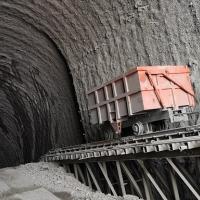 大桥隧道锚出渣系统